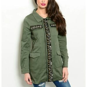 Jackets & Blazers - SHOP THE TRENDS Military Jacket